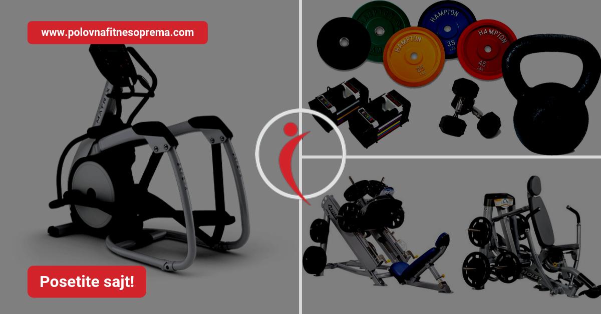 Polovna Fitnes Oprema Mašine I Kardio Oprema