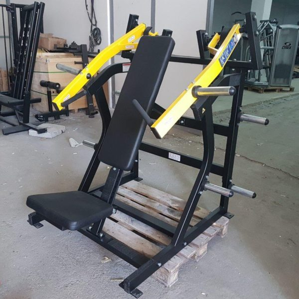 Hammer strength super incline press